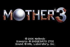 Mother 3 title
